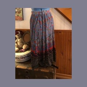 Liz Baker long skirt